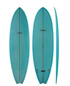 Modern BlackFish Surfboard Blue