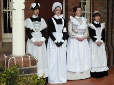 Victorian Maid, Harajuku, Maid Uniform, Maid Outfit, French Maid, Gibson Girl, My Fair Lady, Aprons Vintage, Sissy Maid