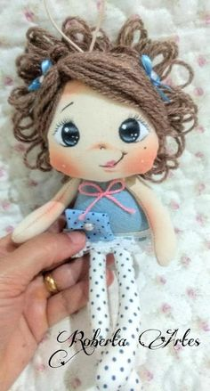 How To Make Toys, Crafts To Make, Homemade Dolls, Bunny Toys, Raggedy Ann, Doll Tutorial, Hello Dolly, Love Sewing, Fairy Dolls