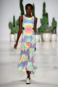 Mara Hoffman Spring 2015 Collection. Photo: Frazer Harrison/Getty Images