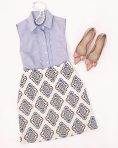 What to wear to work in the summer // business casual outfit ideas
