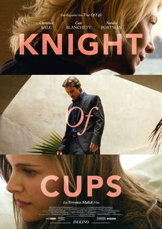 See Christian Bale in Knight of Cups Poster Artwork