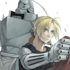 Elric Brothers by Mukuo