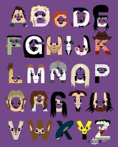 Horror Alphabets