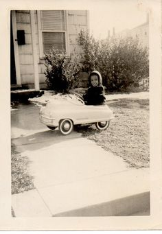 Pedal cars..