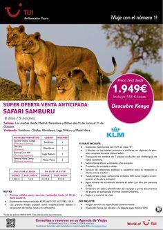 ¡Los Mejores Precios! Súper Oferta KENYA Safari Samburu. Precio final desde 1.949€ ultimo minuto - http://zocotours.com/los-mejores-precios-super-oferta-kenya-safari-samburu-precio-final-desde-1-949e-ultimo-minuto-2/