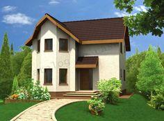 Proiecte de case mici cu doua dormitoare pactice