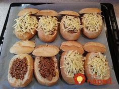 Meat Recipes, Cooking Recipes, Hungarian Recipes, Baked Potato, Ham, Sandwiches, Brunch, Food And Drink, Pizza