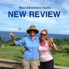 """TripAdvisor review!  """"Sarah from Maui Adventure Tours is such an amazing and wonderful woman! You can tell that being a travel guide is her passion! She is full of positive energy, so much fun, open-hearted and very well educated. After my first trip I booked another one right away. I felt being an insider and almost local leaving Maui thanks to her. Worth every penny! Custom made, professional, different in the best way you can imagine. Hope to see her again soon!""""  (Astrid, Germany)"""