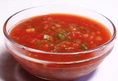 FOOD:Gaspacho  WHAT IT HEALS:Rid yourself of a cold & strengthen immune system  Not only does Gazpacho boost your intake of vitamins and h... READ MORE: http://www.winkyboo.com/blog/foods-that-heal/