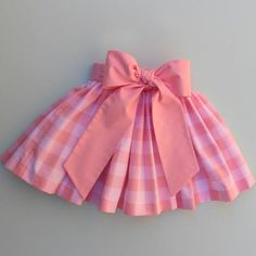 Gia Skirt in Pink Gingham