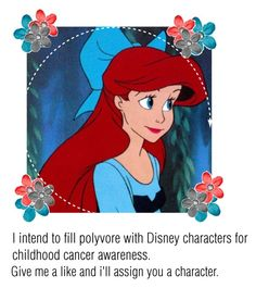 """""""Untitled #353"""" by sav-rules01 ❤ liked on Polyvore featuring art, childhoodcancerawareness and disneycancerawareness"""