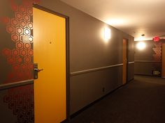 CUSTOM HOTEL - COMPLETED WALL GRAPHIC
