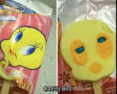 More like creepy bird......