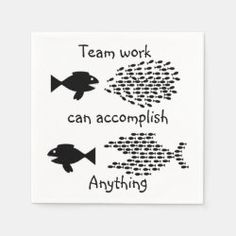 Team Work Paper Party Napkins Create Your Own, Create Yourself, Party Napkins, Ecru Color, Teamwork, Presentation, Paper, Things To Sell