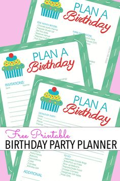 Easy Party Planning