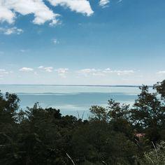 Balaton: my watercolour lake | Epic Street Style   A fave spot at beautiful Lake Balaton: Tihany peninsula #balaton #lake #hungary #travel #vacay #europe #magic #mytinyatlas
