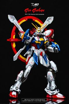 "Custom Build: MG 1/100 God Gundam ""Improved"" - Gundam Kits Collection News and Reviews"