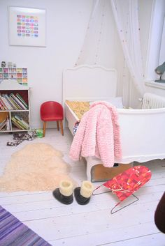 Vintage kids' rooms