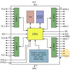 8051 Micro-controller architecture