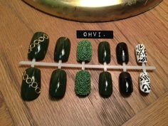 Chanel designer press on nails with chains and pearls 2300 via ohvinails hand painted press on nails military caviar etsy prinsesfo Choice Image