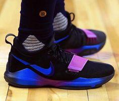 sale retailer 46753 71aeb Paul George debuted a new Nike PG 1. Basketball Tricks, Nike Basketball  Shoes,