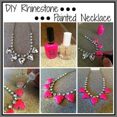 Because Shanna Said So...: Do It Yourself Statement Necklace