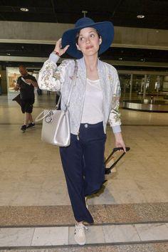 Marion Cotillard à l'aéroport de Nice le 15 mai 2015