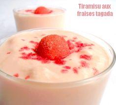 Tiramisu aux fraises Tagada