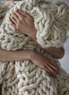 Ayuda!!!! Manta de lana merina!! tricot o a dos agujas | Aprender manualidades es facilisimo.com