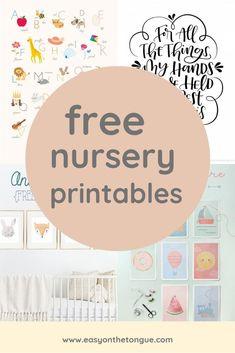Celebrate the birth of a new baby – Free Birdie Printable – diy kid room decor