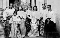 Women of a Tagalog family, Bacoor, Cavite, Philippines Miss Philippines, Philippines Culture, Manila Philippines, Philippines Outfit, Philippines Fashion, Filipino Fashion, Filipino Culture, Filipina Beauty, Filipiniana