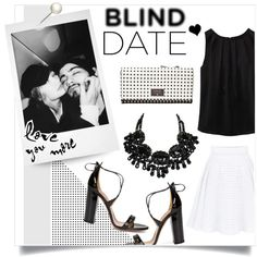 Your friend has set you up on a blind date. Eek! Now, what to wear? Create a head-to-toe look, from accessories to footwear.   #blinddate