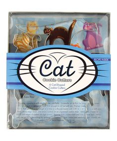 Another great find on #zulily! Silver Cat Cookie Cutter Set #zulilyfinds