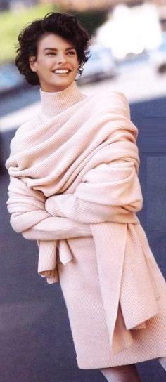 blush beauty ~ sweater dress & wrap
