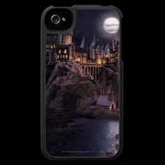 Hogwarts Boats To Castle Case For The Iphone by harrypotter