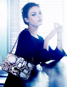 Miss Dior ad campaign Irresistibly gorgeous! Miss Dior handbags representative for Fall / Winter collection.