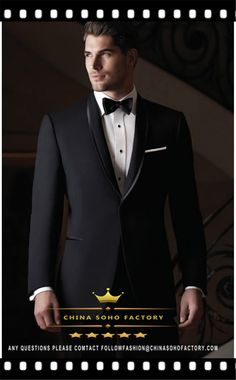 Find More Suits Information about Men's Black Suits Terno Masculino Coat Fashion Wedding Tuxedo For Men One Button back Vested Shawl Lapel (Jacket+Pants+Tie)JW16,High Quality suit belt,China suit wool Suppliers, Cheap suit towel from ChinaSoHoFactory on Aliexpress.com