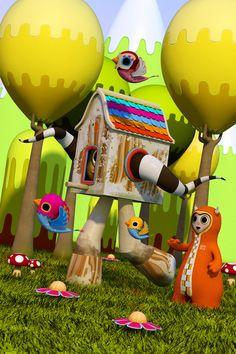 3D Illustrations and Character Designs by Teodoru Badiu