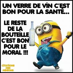 Fashion and Lifestyle Funny Signs, Funny Jokes, Citation Minion, Minion S, French Phrases, Cartoon Jokes, Quote Citation, College Humor, Minions Quotes