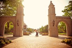sample gates, Bloomington, IN ..... so funny that this was on the same page with other amazing places i wish i could be. and this is 20 feet from where im sitting.