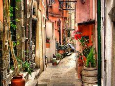 ヴェルナッツァの路地 - イタリア