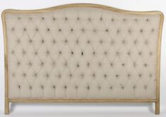 Tufted French headboard...from The Paris Apartment!