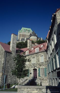 Canada, Quebec, Quebec City, Chateau Frontenac Hotel