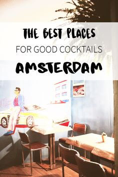 """Looking for a cocktail bar in Amsterdam? There's a list on travel blog http://www.yourlittleblackbook.me with all the best cocktail bars in Amsterdam! Planning a trip to Amsterdam? Check http://www.yourlittleblackbook.me/ & download """"The Amsterdam City Guide app"""" for Android & iOs with over 550 hotspots: https://itunes.apple.com/us/app/amsterdam-cityguide-yourlbb/id1066913884?mt=8 or https://play.google.com/store/apps/details?id=com.app.r3914JB"""
