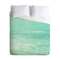 Sand City Surf Duvet Cover