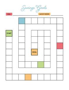 Budget Binder, Budget Planner, Planner Ideas, Planner Supplies, Happy Planner, Bullet Journal Calendrier, Budget Spreadsheet Template, Savings Chart, Goal Charts