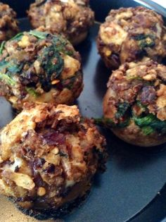 How to Make Stuffed Mushroom Appetizers Recipe - Snapguide