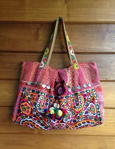 Vintage indien Banjara Tribal tissu sac ethnique par LavishLanna