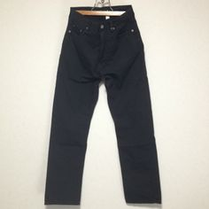 STONE ISLAND BLACK COTTON PANTS Size: 33 Made in ITALY